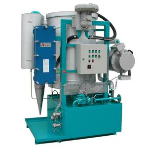 Desorber CJC D88, Impianti trattamento olio secco