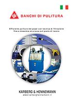brochure banchi di pulitura