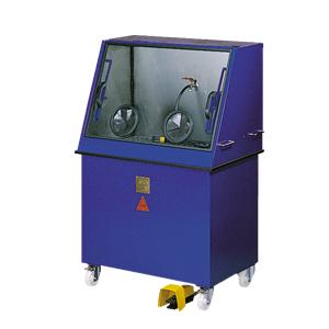 Banco di pulitura con filtro per liquido di lavaggio RT 40 G