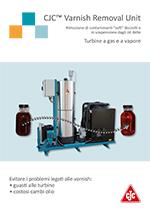 brochure varnish removal unit