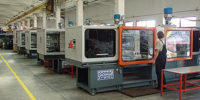 macchine stampaggio plastica