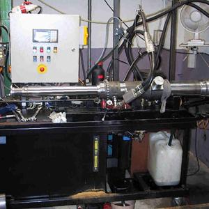 Banchi di prova, Filtrazione olio di flussaggio
