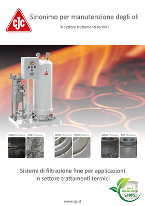 Brochure: Filtrazione olio da tempra (trattamenti termici)