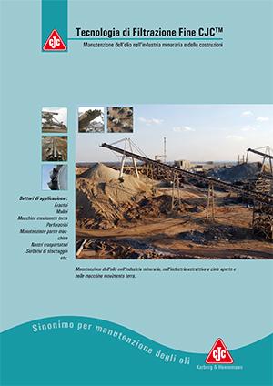Manutenzione dell'olio efficiente nell'industria mineraria con sistemi di CJC