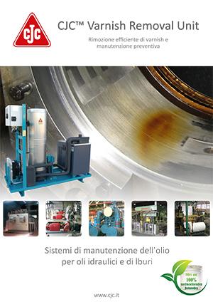 Brochure: Rimozione Varnish dall'olio