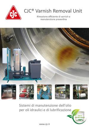 Brochure: Varnish Removal Unit