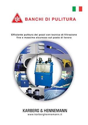 Brochure: Banchi di lavaggio CJC