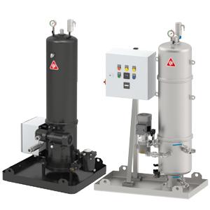 Filtri Separatori CJC 27/- P1 e P4 per circuito circuito oleodinamico e sistema di lubrificazione