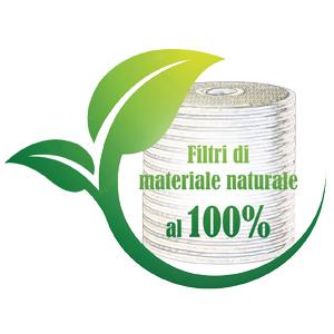 Filtro cellulosa CJC, filtri di materiale naturale al 100%