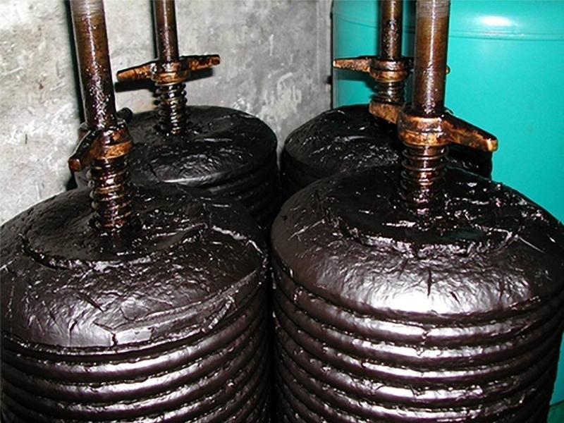 Filtro per trattamento olio da tempra