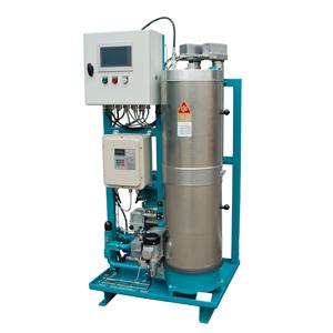 Sistema per la flussaggio dell'ingranaggi e filtrazione dell'olio